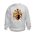 Campe Family Crest Kids Sweatshirt
