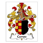 Campe Family Crest Small Poster