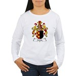 Campe Family Crest Women's Long Sleeve T-Shirt