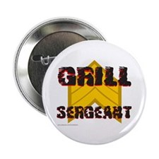 """GRILL SERGEANT 2.25"""" Button"""