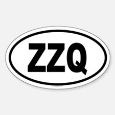 ZZQ Oval Decal
