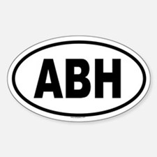 ABH Oval Decal