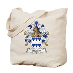 Brewer Family Crest Tote Bag