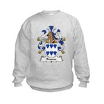 Brewer Family Crest Kids Sweatshirt