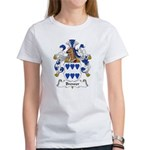 Brewer Family Crest Women's T-Shirt