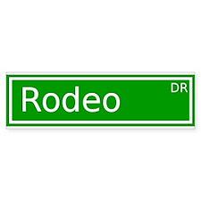 Rodeo Drive Bumper Bumper Sticker