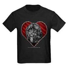 Black Labradoodle Valentine T