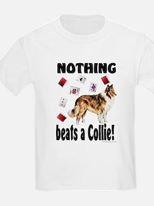 """Nothing beats a Collie!"" Kids T-Shirt"