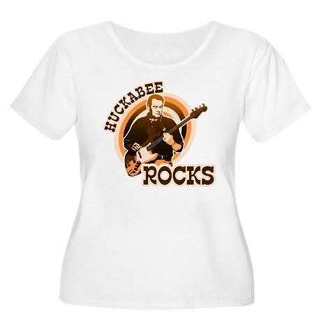 Huckabee Rocks 2 Women's Plus Size Scoop Neck T-Sh