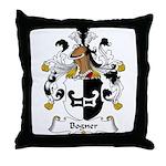 Bogner Family Crest Throw Pillow