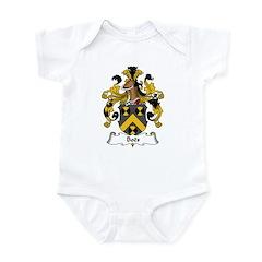 Boës Family Crest Infant Bodysuit