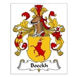 Boeckh Family Crest Small Poster