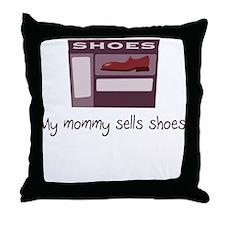 Shoe Sales Throw Pillow