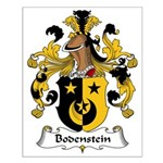 Bodenstein Family Crest Small Poster