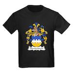 Blumenstein Family Crest Kids Dark T-Shirt