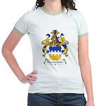 Blumenstein Family Crest Jr. Ringer T-Shirt