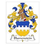 Blumenstein Family Crest Small Poster