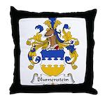 Blumenstein Family Crest Throw Pillow
