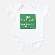 New Rochelle T-shirts Infant Bodysuit