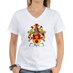 Blume Family Crest Women's V-Neck T-Shirt