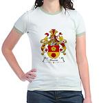 Blume Family Crest Jr. Ringer T-Shirt