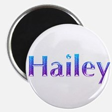 Glitter Name Hailey Magnet
