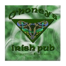 O'Honey's Irish Lesbian Tile Coaster