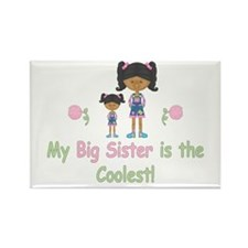 Coolest Big Sister (aa) Rectangle Magnet