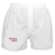 Don't Panic Smiley - Boxer Shorts