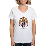 Binder Family Crest Women's V-Neck T-Shirt