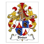 Binder Family Crest Small Poster