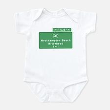 Westhampton Beach Exit T-shir Infant Bodysuit