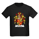 Billinger Family Crest Kids Dark T-Shirt