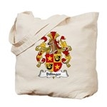 Billinger Family Crest Tote Bag