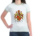 Billinger Family Crest Jr. Ringer T-Shirt