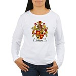 Billinger Family Crest Women's Long Sleeve T-Shirt