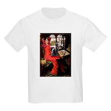 Lady / Russian Blue cat T-Shirt