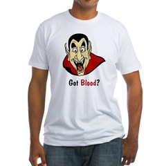 Got Blood? Fitted T-Shirt