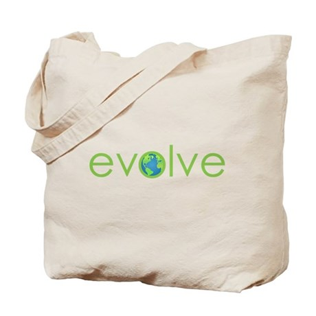 Evolve - planet earth Tote Bag