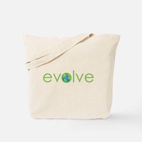 Evolve - planet earth Tote Bag