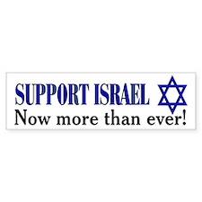 Support Israel NOW!! Bumper Bumper Sticker