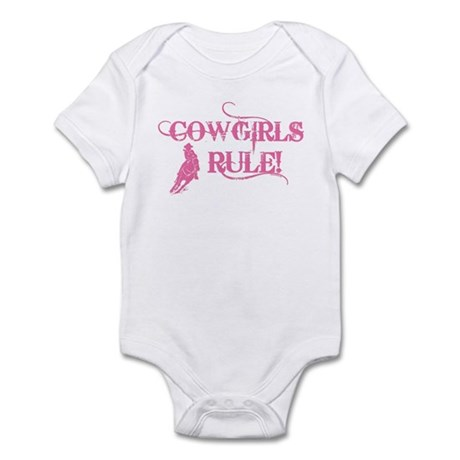 Cowgirls Rule Infant Bodysuit