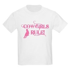 Cowgirls Rule T-Shirt