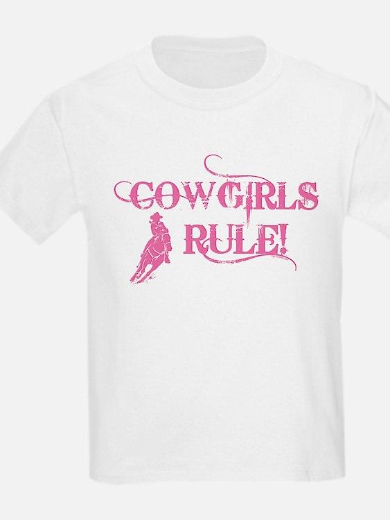 Cowgirls Rule T-Shirt