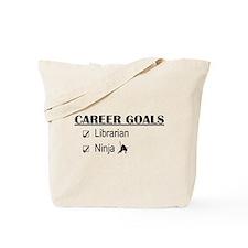 Librarian Career Goals Tote Bag