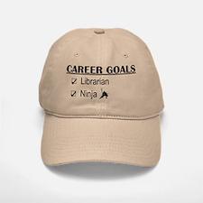 Librarian Career Goals Baseball Baseball Cap