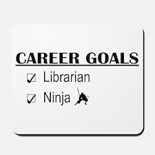 Librarian Career Goals Mousepad