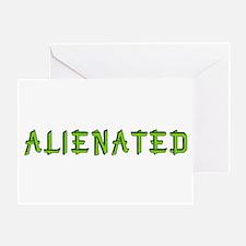 Alienated Greeting Card