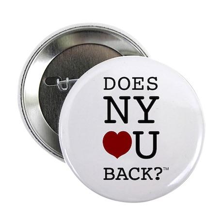 """DOES NY LOVE U BACK?"" Button 10-pk"