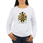Bertsch Family Crest Women's Long Sleeve T-Shirt